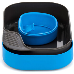Wildo Camp-a-box Set de Cena Básico, light blue